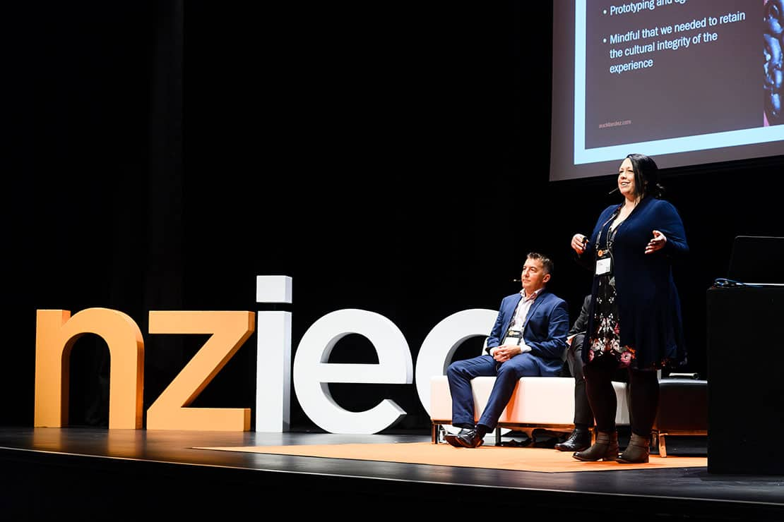 NZIEC Conference stage