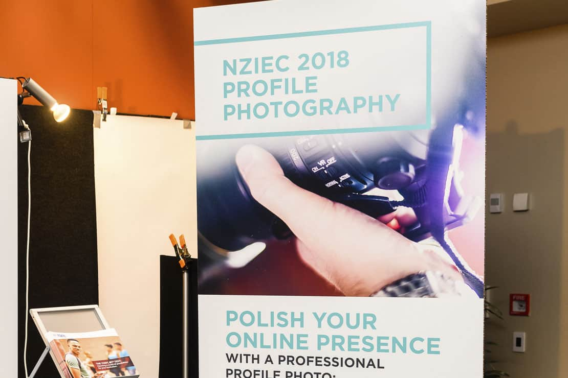 Profile photography at the NZIEC Conference