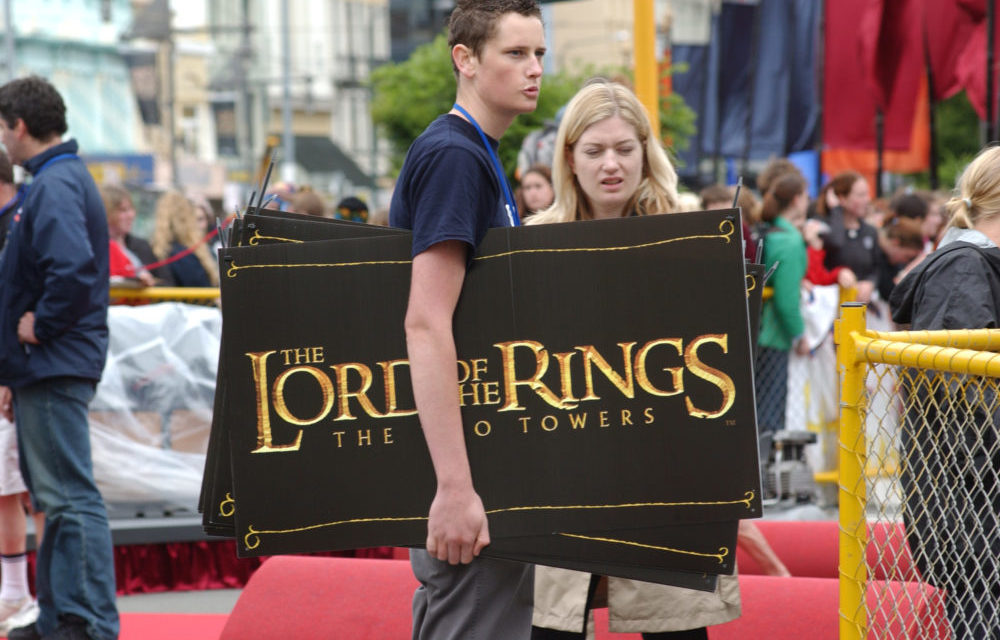 Lord of the Rings Premiere